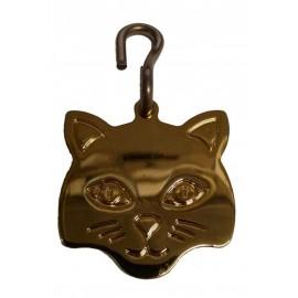 Médaille tête de chat