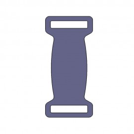 Plaque inox pour collier largeur 29mm