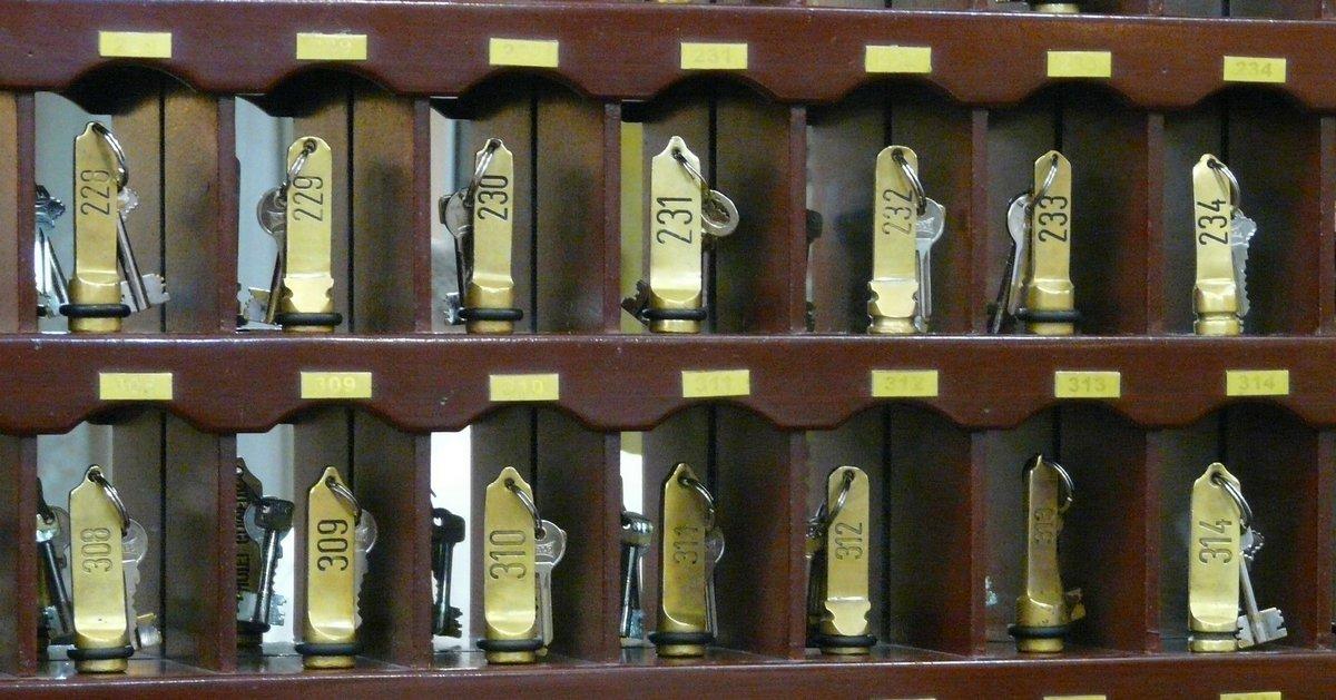 porte clés pour les hôtels